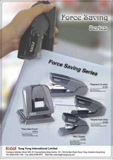 EAGLE brand Office Stationery: include kinds of staplers, staples