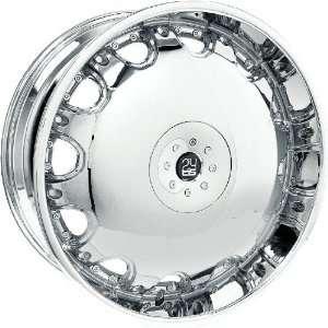 TIS TIS0524138 TIS05 CHROME Wheel Rim 24 Automotive