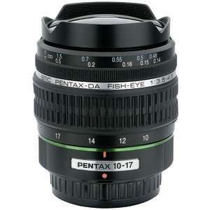 Pentax 21580 Da 1017Mm F/3.54.5 Ed (If) Fisheye Lens
