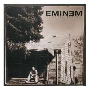 EMINEM The Marshall Mathers LP DOUBLE SIDED POSTER
