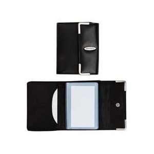 x4 1/4x3 1/2, Black   Sold as 1 EA   Business card book organizes
