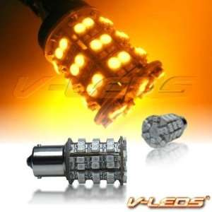 V LEDS AMBER 60 M SMT PARK/TURN BULBS 1156: Automotive