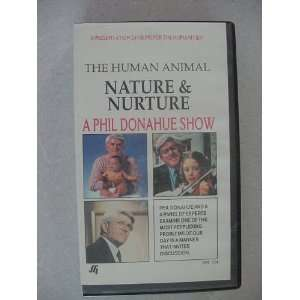 VHS Video Tape of The Human Animal Nature & Nurture A Phil