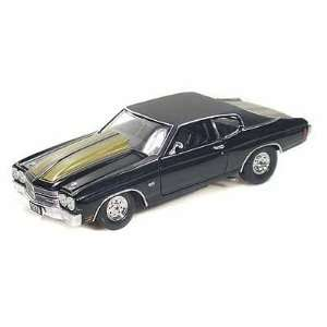 1970 Chevy Chevelle SS 454 Pro Street 1/24 Black: Toys