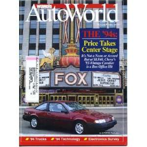 Concept Car, Auto Industry in Australia Wards Communications Books