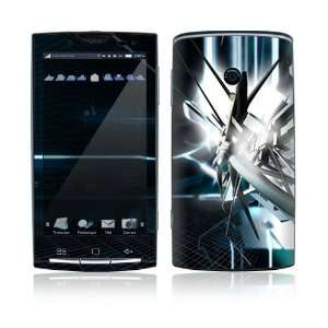 Xperia X10 Skin Decal Sticker   Abstract Tech City