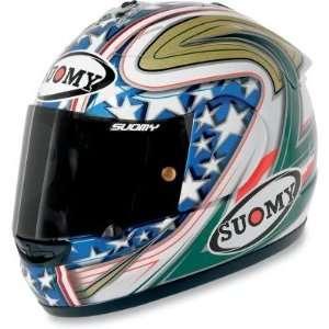 Suomy Spec 1R Extreme Helmet , Size Lg, Style Canepa