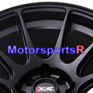 15 XXR 527 Black Neon yellow Concave Rims Wheels Stance 4x100 84 85 91