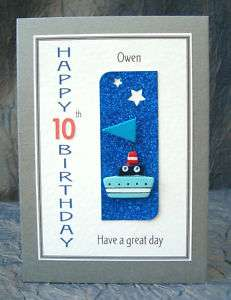 PERSONALISED Birthday Card 5th 10th 50th 70th etc Q8TB