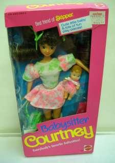 922 NRFB Mattel Babysitter Courtney (Skipper)(Barbie)