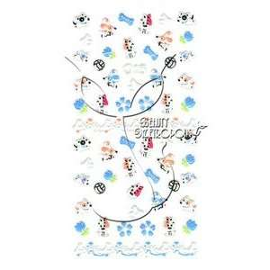 Wishbone Dog/Puppy Nail Stickers/Decals Beauty