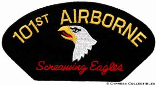 101st AIRBORNE DIVISION SCREAMING EAGLES new ARMY PATCH