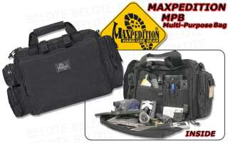 Maxpedition 0601 MPB Multi Purpose Bag BLACK 0601B NEW