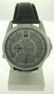 Citizen Eco Drive Straps Mens Strap Quartz Watch BR0120 07A