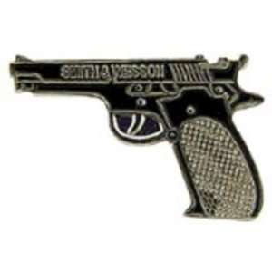 Smith & Wesson 45 Caliber Pistol Pin 1 Arts, Crafts