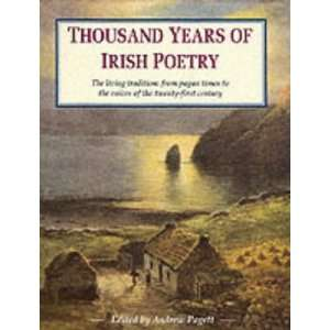 Years of Irish Poetry (9781840671476): Andrew (ed) Pagett: Books