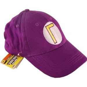 SUPER MARIO BROS WALUIGI HAT COSPLAY COSTUME NEW US SELLER