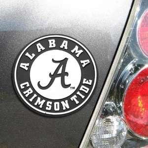 Alabama Crimson Tide Premium Metal Car Emblem Automotive