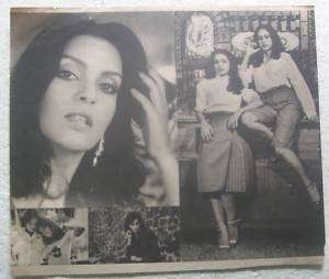 1970s Bollywood Actress Zeenat Aman Vintage Print#bp3