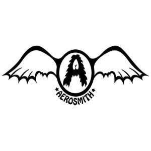 pin aerosmith logo symbol text wings on pinterest