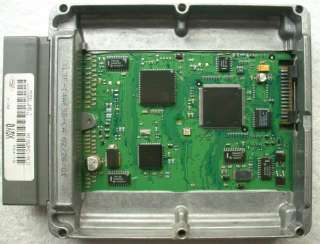 OEM 2001 Ford F 350 ECM ECU PCM Engine Computer #1C3A 12A650 DA / XQY0