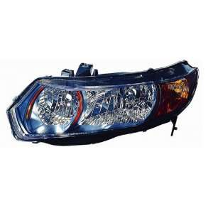 COUPE) HEADLIGHT LEFT (DRIVER SIDE) (MT,6 SPEED) 2006 2009 Automotive