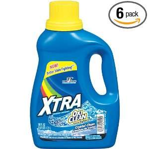 Xtra Liquid Laundry Plus Oxiclean Concentrate Detergent