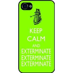 Rikki KnightTM Dr Who Dalek Keep Calm and Exterminate Lime