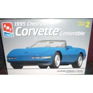 6538 AMT/Ertl 1995 Chevrolet Corvette 1/25th Scale Plastic Model Kit
