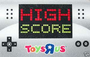 TOYS R US Gift Card High Score LENTICULAR COLLECTIBLE 2012