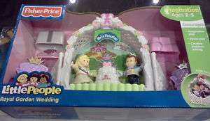 Fisher Price Little People Royal Wedding Playset Bride Groom Prince