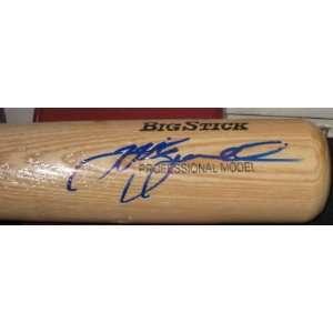 Jeff Bagwell Signed Bat   Coa