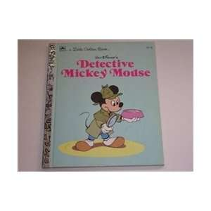 Detective Mickey Mouse Walt Disney Books