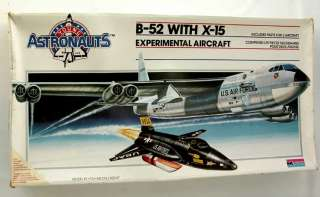 KIT Monogram B 52 Jet Bomber & Experimental X 15 Aircraft SCALE 1/72