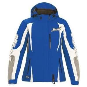 Ski Doo Ladies X Team Winter Jacket XS Blue Snow Sled