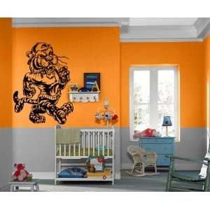 Cool Cartoon Tiger Kids Room Animal Design Wall Mural Vinyl Decal