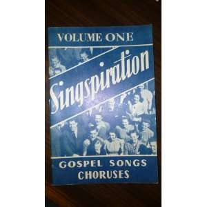 One: Gospel Songs and Choruses.: Alfred B. (ed). Smith: Books