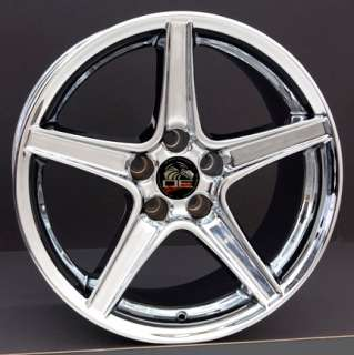 18 9/10 Chrome Saleen Wheels Rims Fit Mustang® 94 04