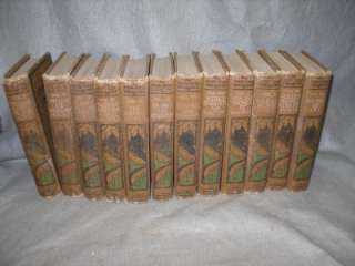 VINTAGE BOOKS YOUNG FOLKS TREASURY 12 VOL. SET 1919