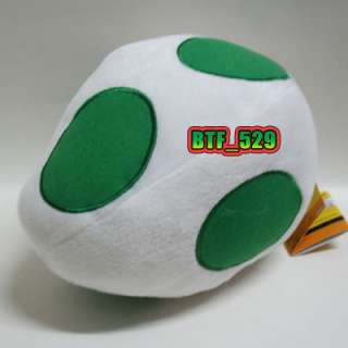 New Super Mario Brothers Plush Figure(White Yoshi Egg)