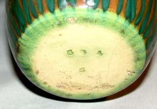 1900s Weller Pottery Vase With Oriental Figure