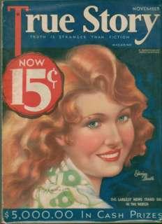 True Story Magazine November 1932 Edwina Booth