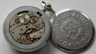 Old pocket watch MOLNIJA. Great Patriotic War 1941 1945