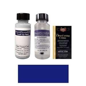 1 Oz. Medium Melina Blue Metallic Paint Bottle Kit for