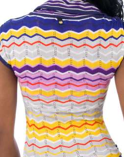 APPLE BOTTOMS MISSONI STRIPE SWEATER DRESS