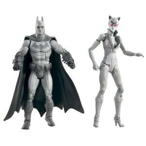 Catwoman Collector Figure 2 Pack (Black and White Deco): Toys & Games