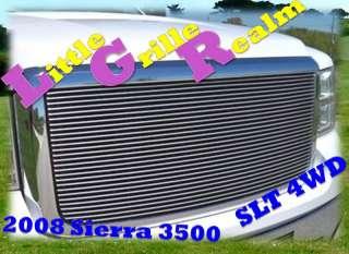 07 10 2009 2010 GMC Sierra 2500 HD Billet Grille Combo