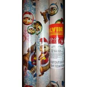 Hallmarks Alvin and the Chipmunks Christmas Gift Wrap 50