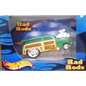 Hot Wheels Rad Rods 1950 Ford Woody Toys & Games