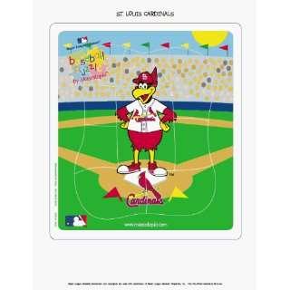 MLB St Louis Cardinals Wooden Mascot Puzzle *SALE*